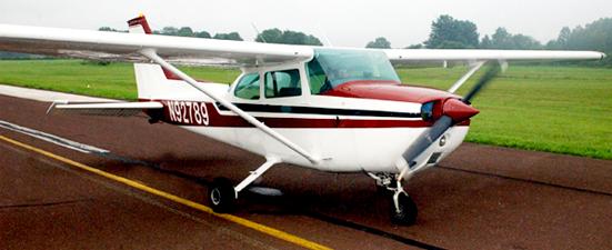 Cessna 172 VFR (N92789)